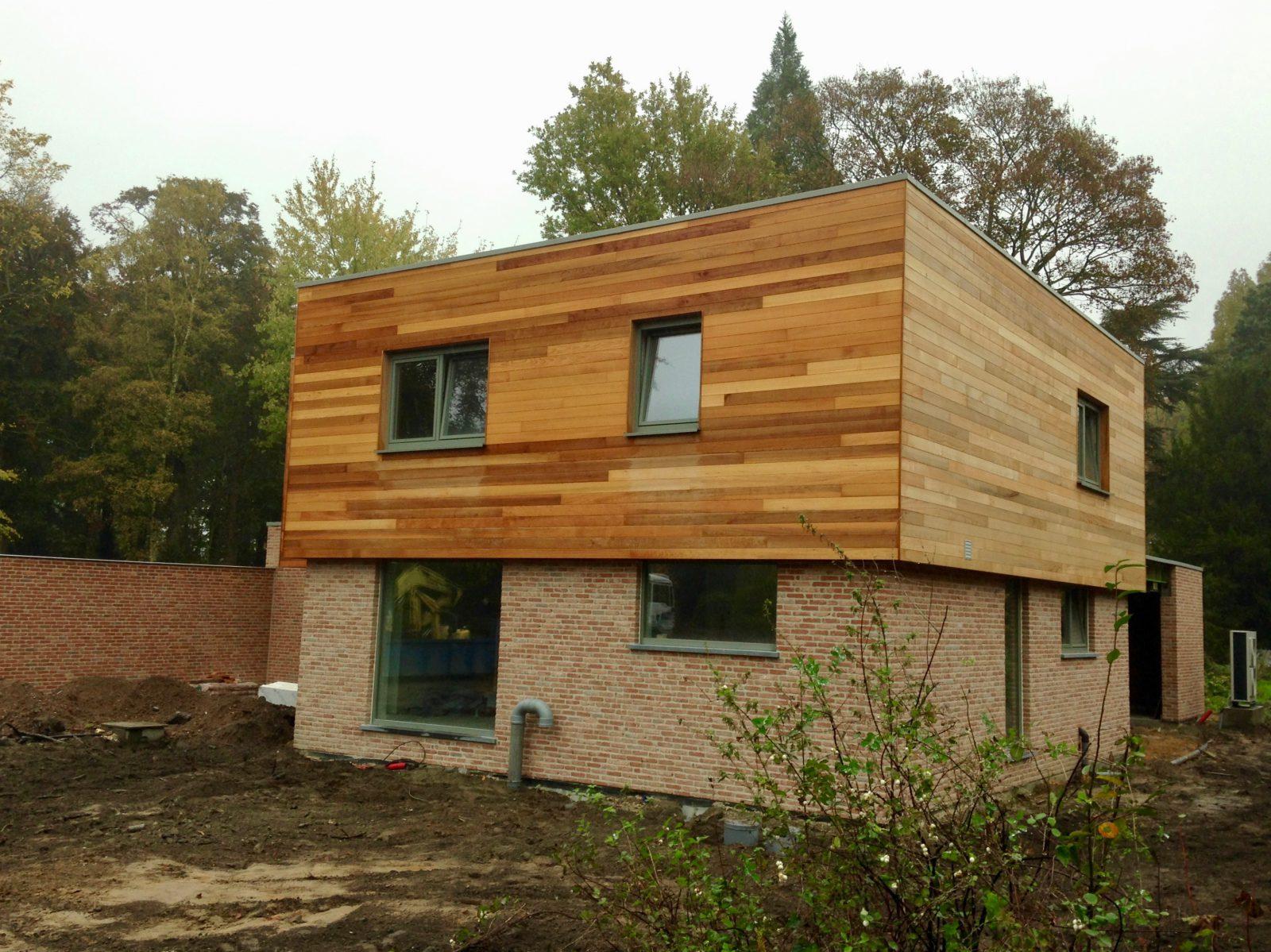 nieuwbouw alleenstaande gezinswoning